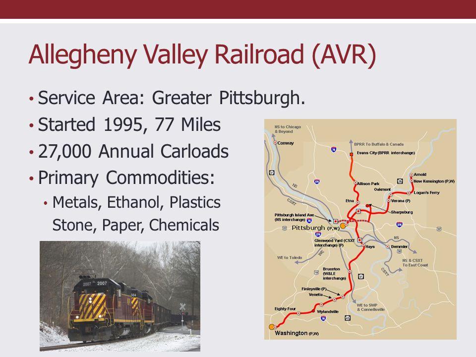 Allegheny Valley Railroad (AVR)