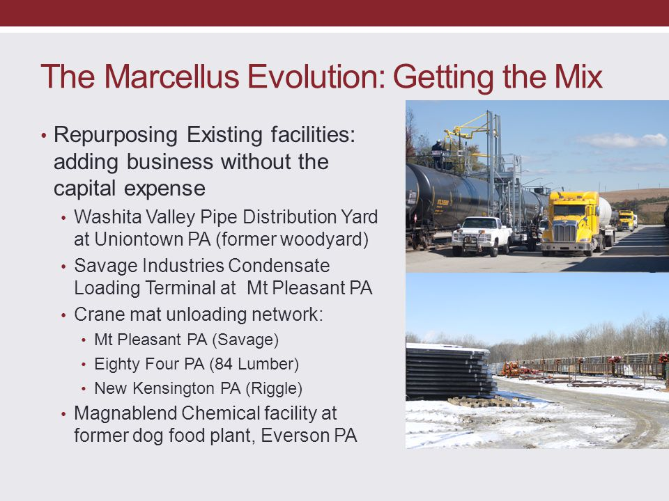 The Marcellus Evolution: Getting the Mix