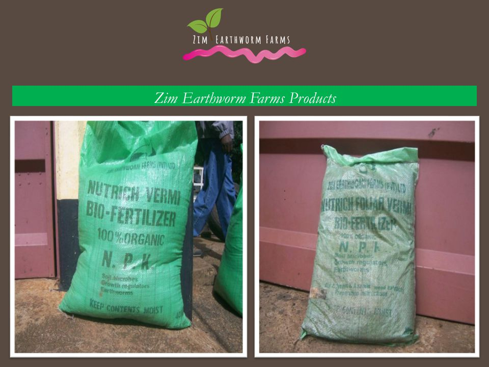 Zim Earthworm Farms Products