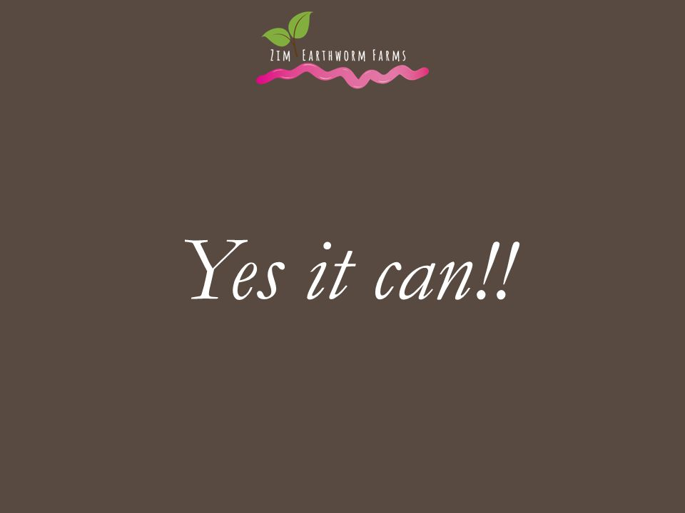 Yes it can!! . .