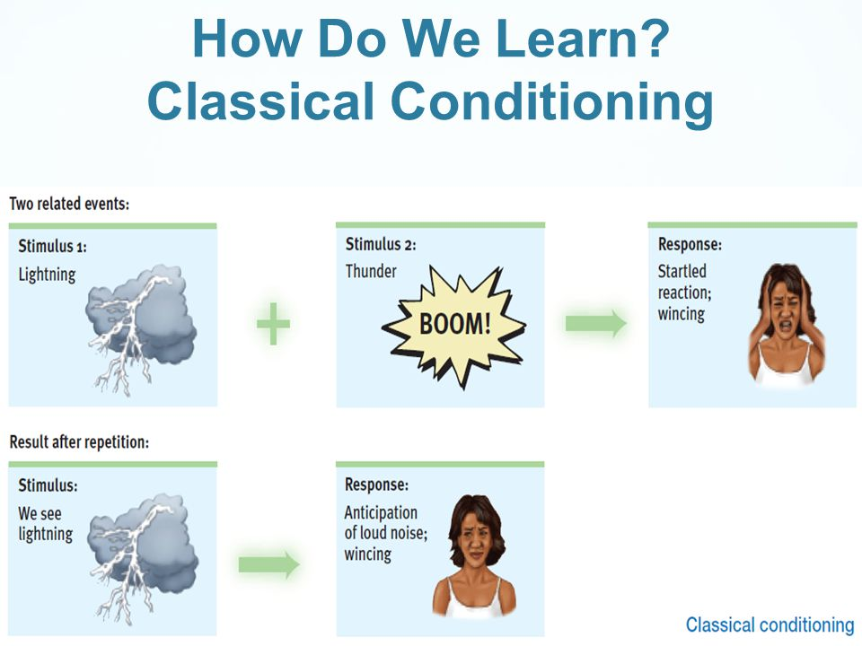 How Do We Learn Classical Conditioning
