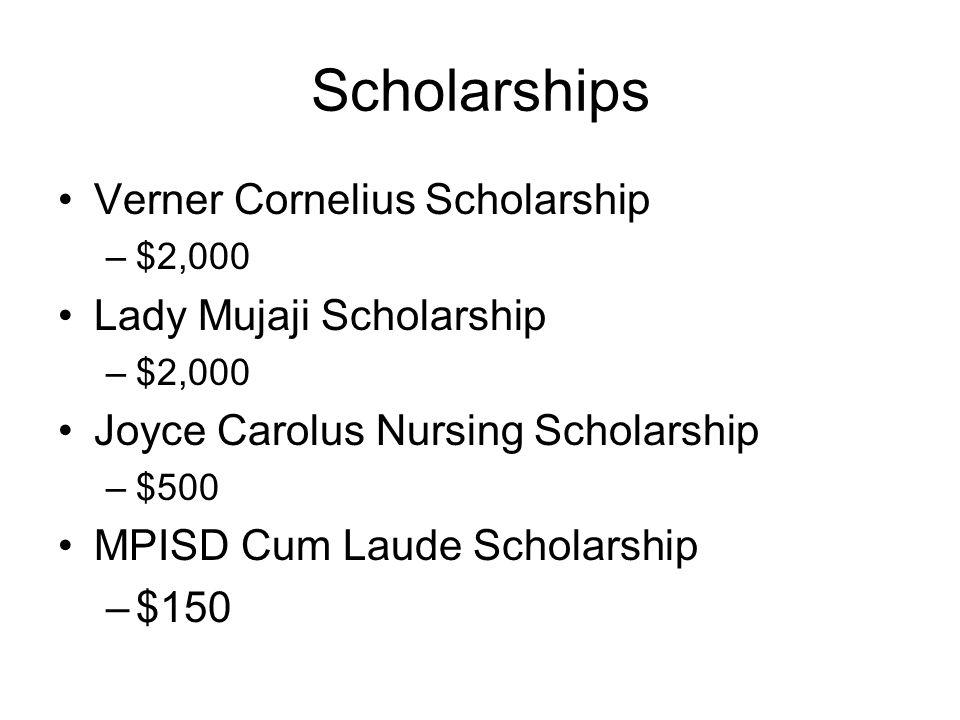 Scholarships Verner Cornelius Scholarship Lady Mujaji Scholarship