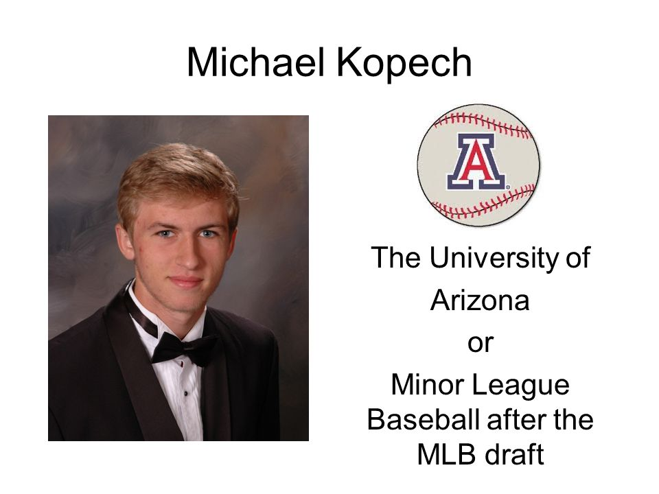 The University of Arizona or Minor League Baseball after the MLB draft