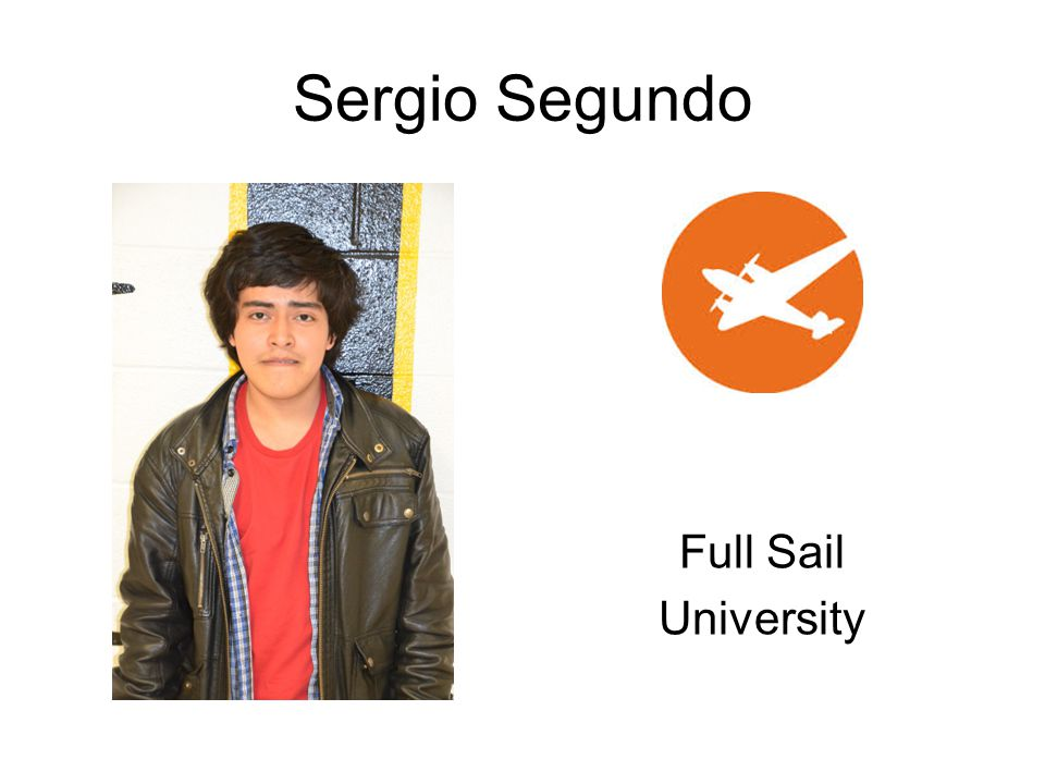 Sergio Segundo Full Sail University