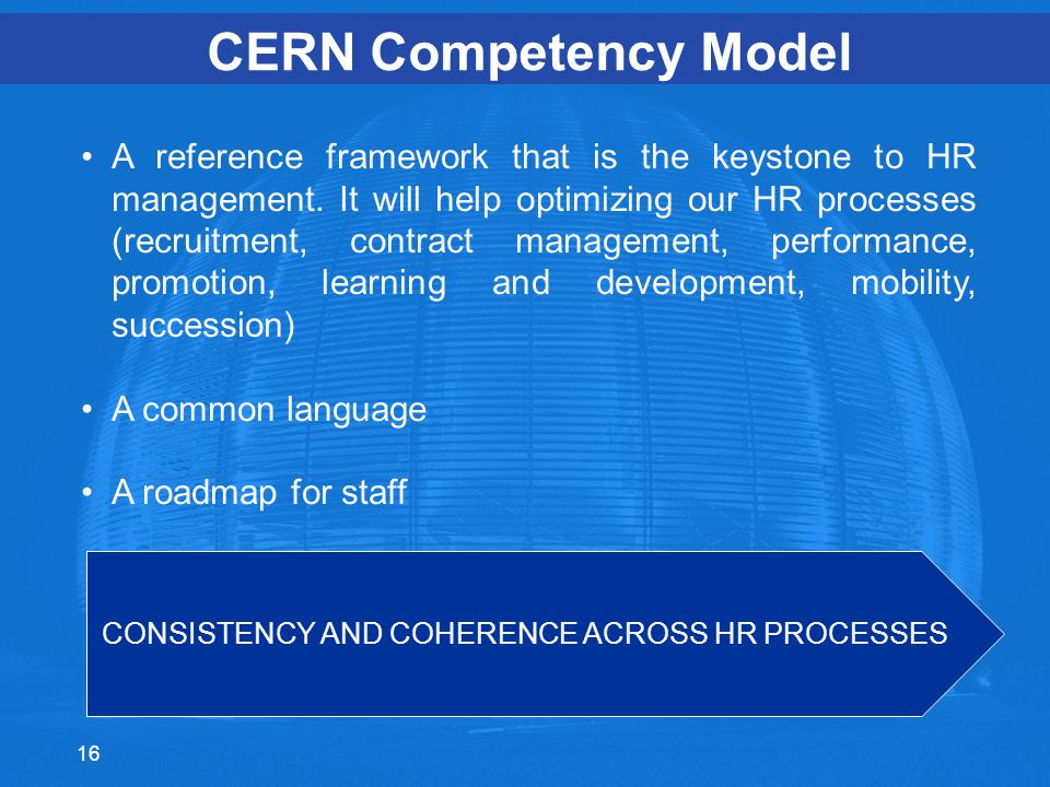 CONSISTENCY AND COHERENCE ACROSS HR PROCESSES