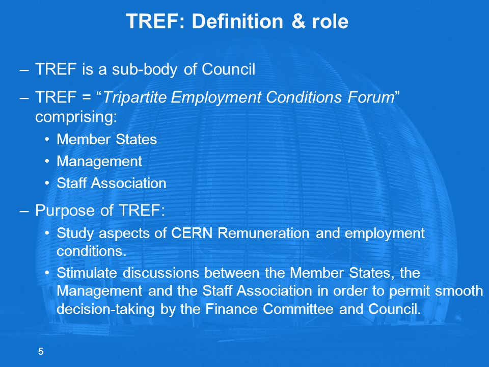 TREF: Definition & role