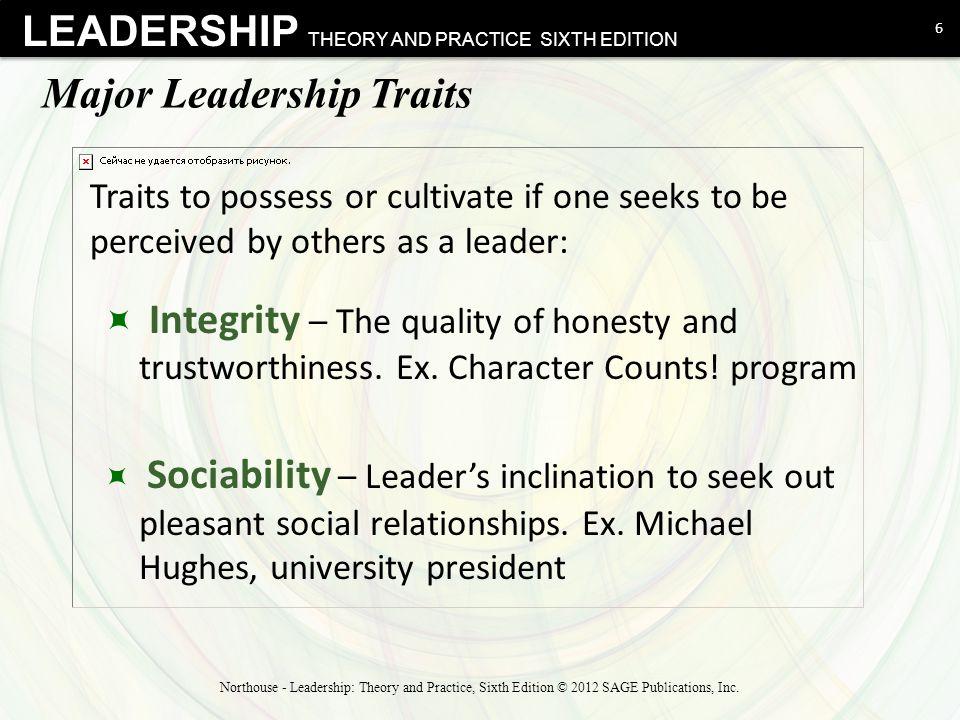 Major Leadership Traits