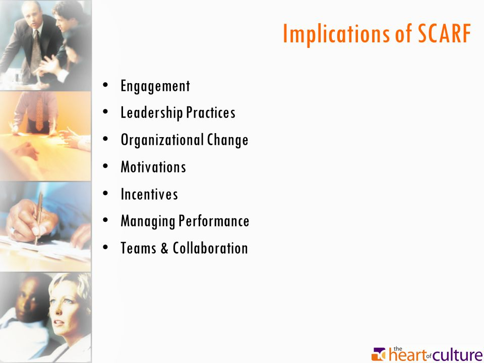 Implications of SCARF Engagement Leadership Practices