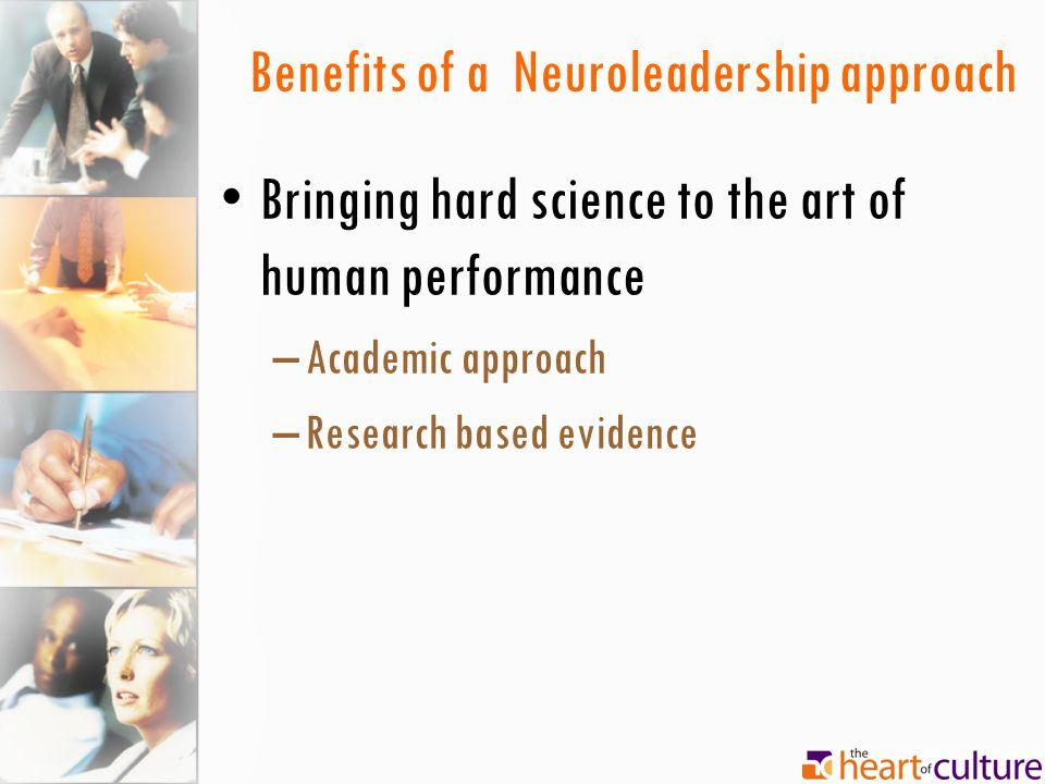 Benefits of a Neuroleadership approach
