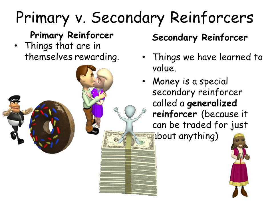 Primary v. Secondary Reinforcers