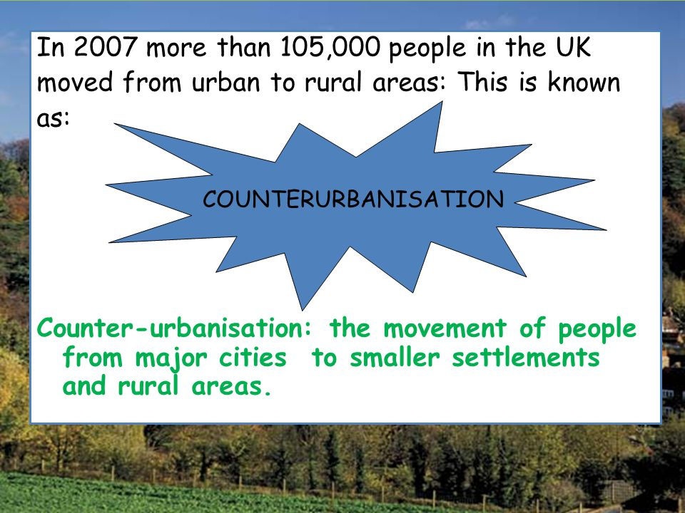 In 2007 more than 105,000 people in the UK