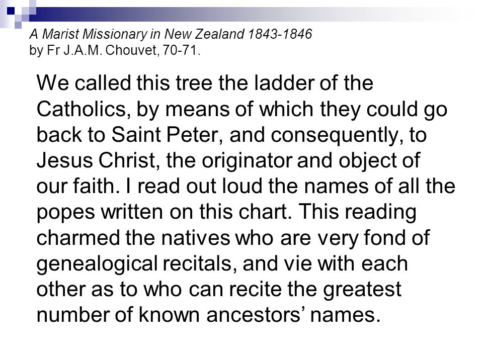 A Marist Missionary in New Zealand 1843-1846 by Fr J. A. M