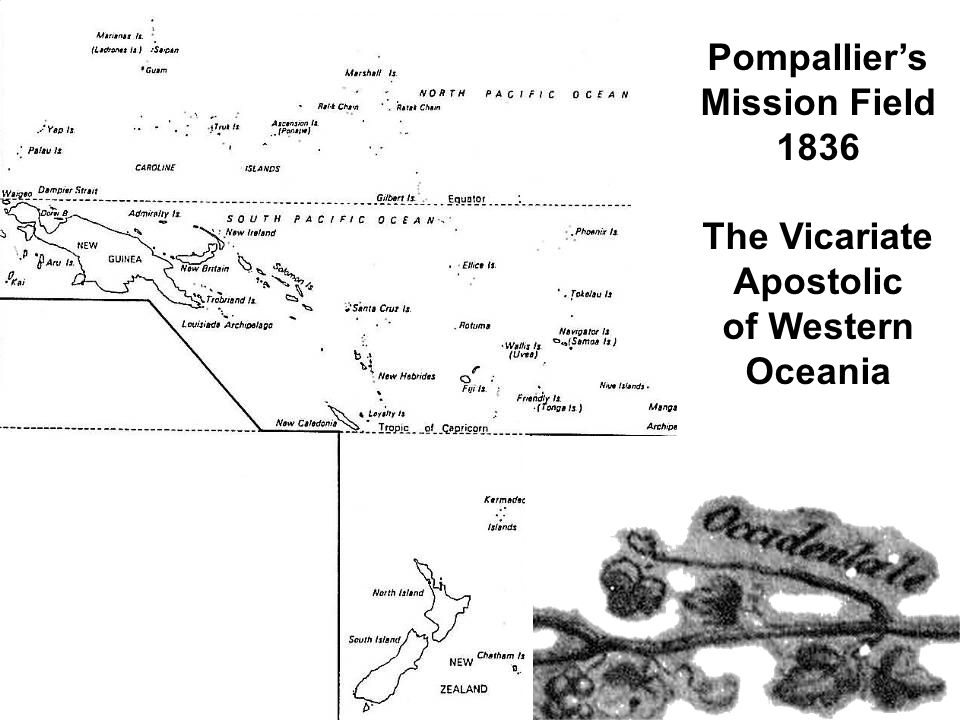Pompallier's Mission Field 1836