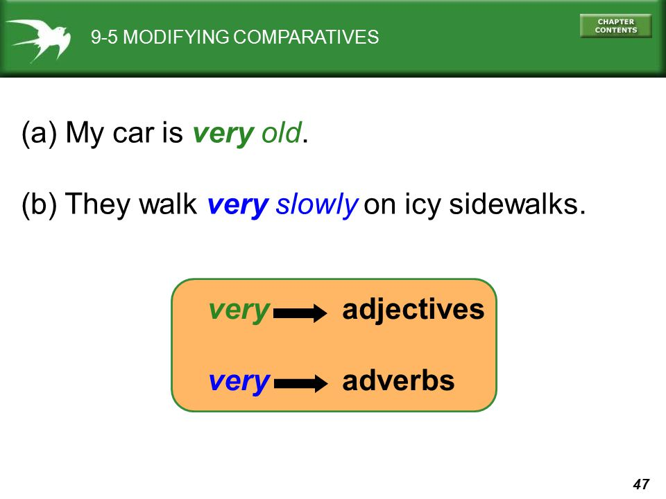 (b) They walk very slowly on icy sidewalks.