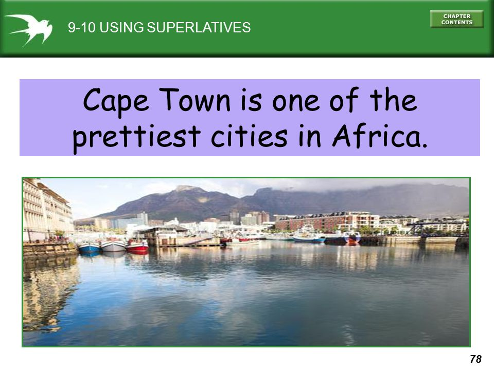 Cape Town is one of the prettiest cities in Africa.