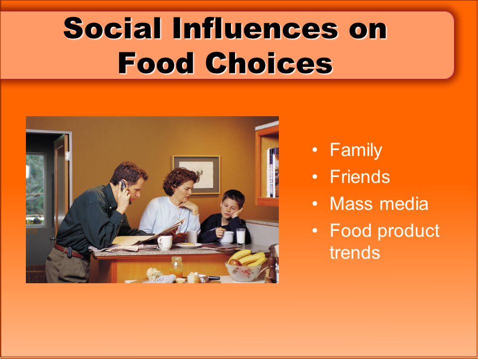 Social Influences on Food Choices