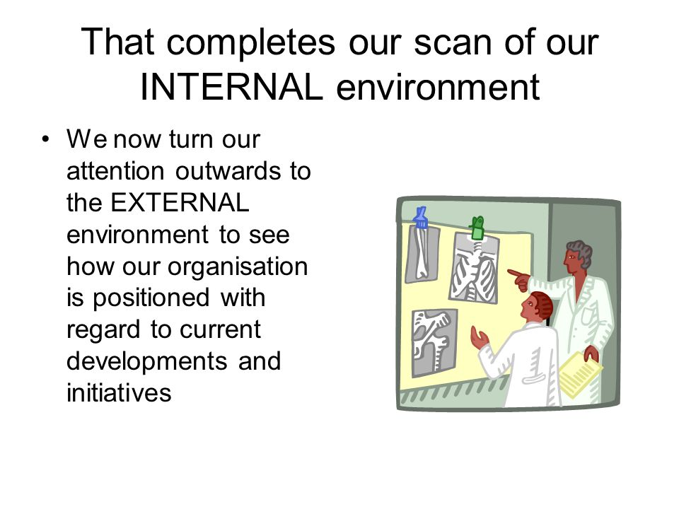 That completes our scan of our INTERNAL environment