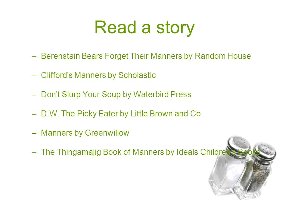Read a story Berenstain Bears Forget Their Manners by Random House