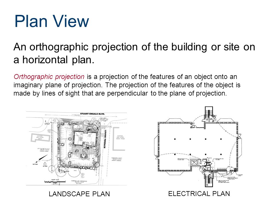 Plan Elevation Projection : Commercial building project portfolio ppt video online
