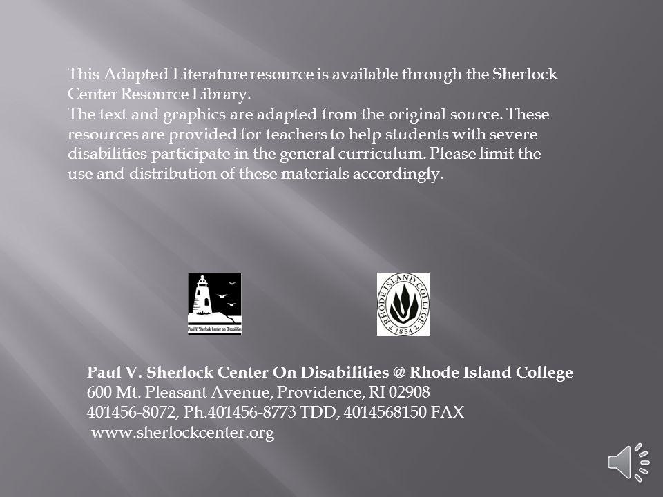 Paul V. Sherlock Center on Disabilities @ Rhode Island College