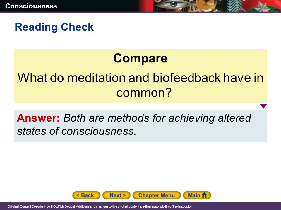 What do meditation and biofeedback have in common