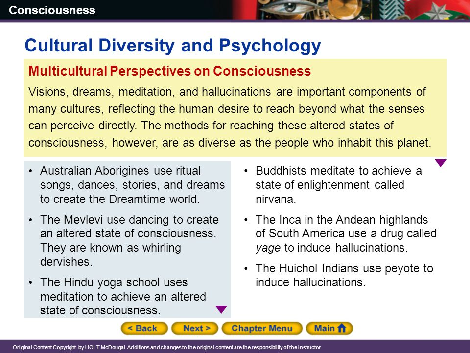 Cultural Diversity and Psychology