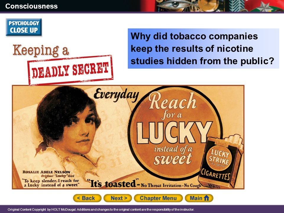 Why did tobacco companies keep the results of nicotine studies hidden from the public