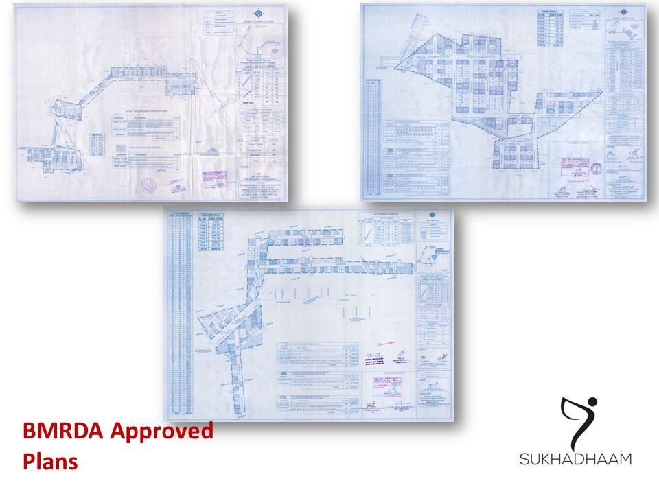 BMRDA Approved Plans