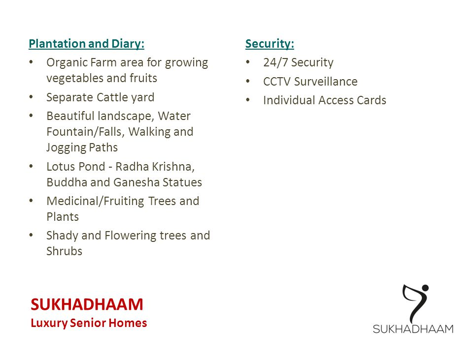 SUKHADHAAM Plantation and Diary: