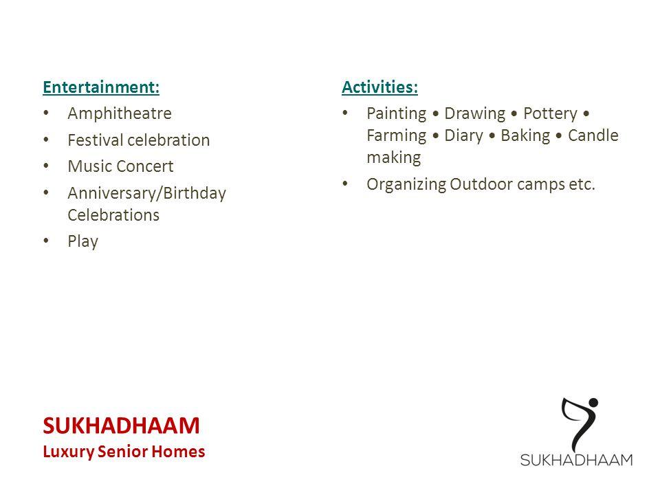 SUKHADHAAM Entertainment: Amphitheatre Festival celebration
