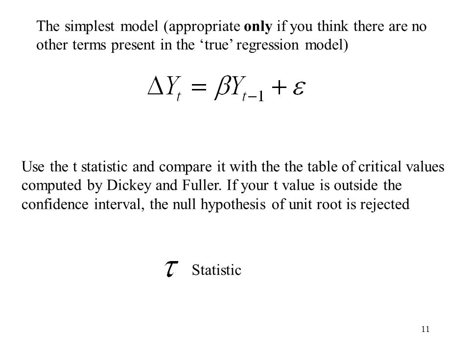 The simplest model (appropriate only if you think there are no