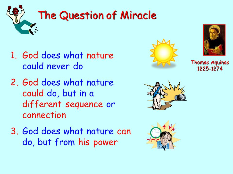 The Question of Miracle