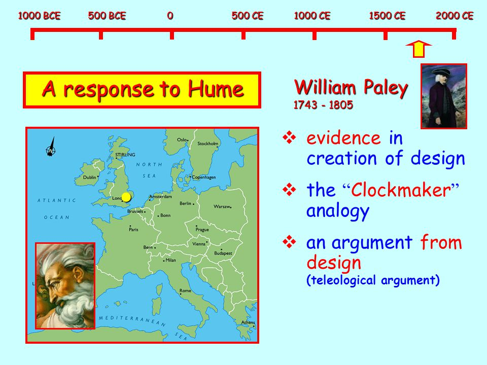 A response to Hume William Paley 1743 - 1805