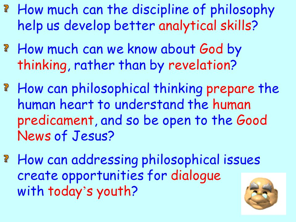 How much can the discipline of philosophy help us develop better analytical skills