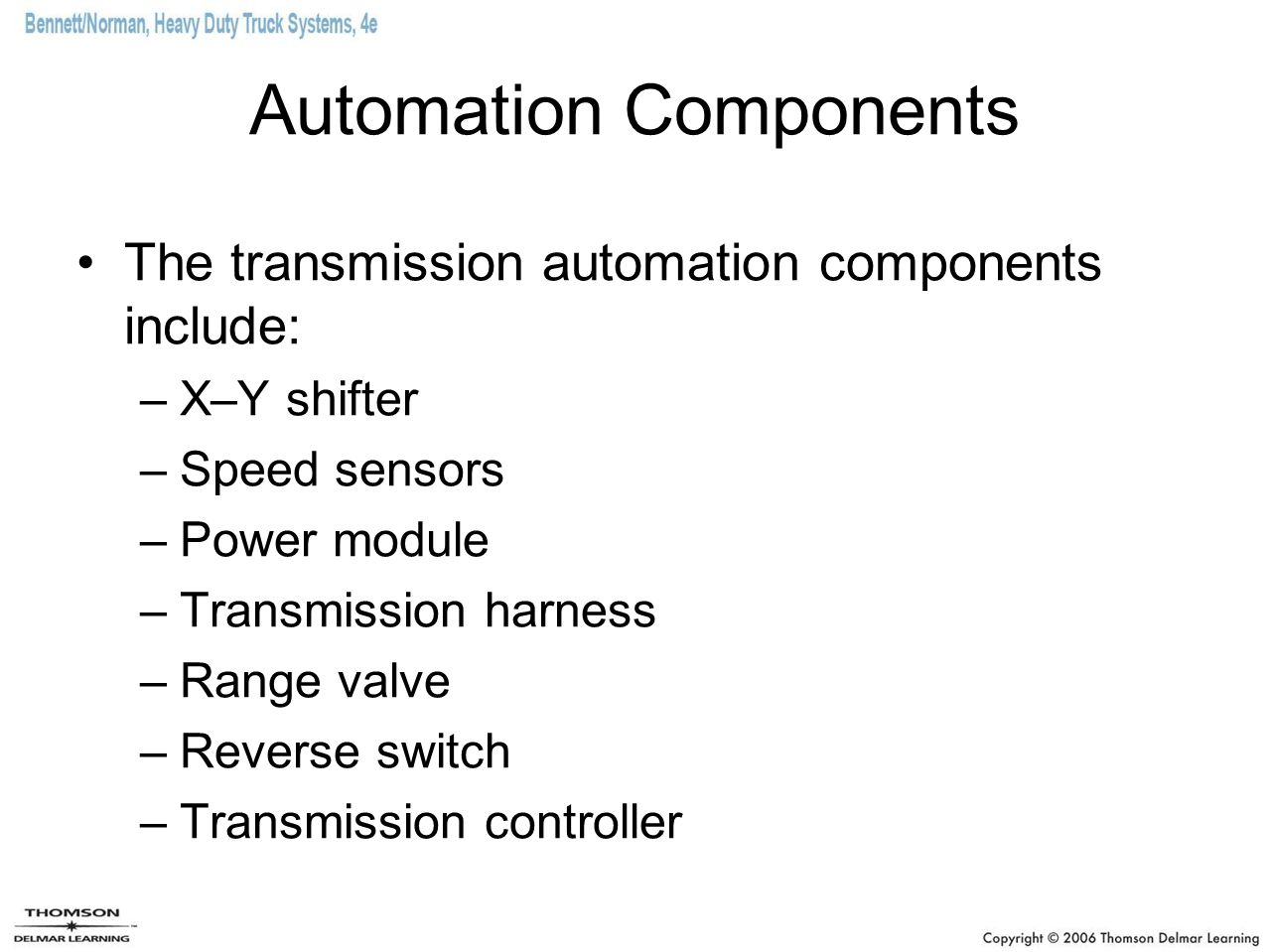 Automation Components