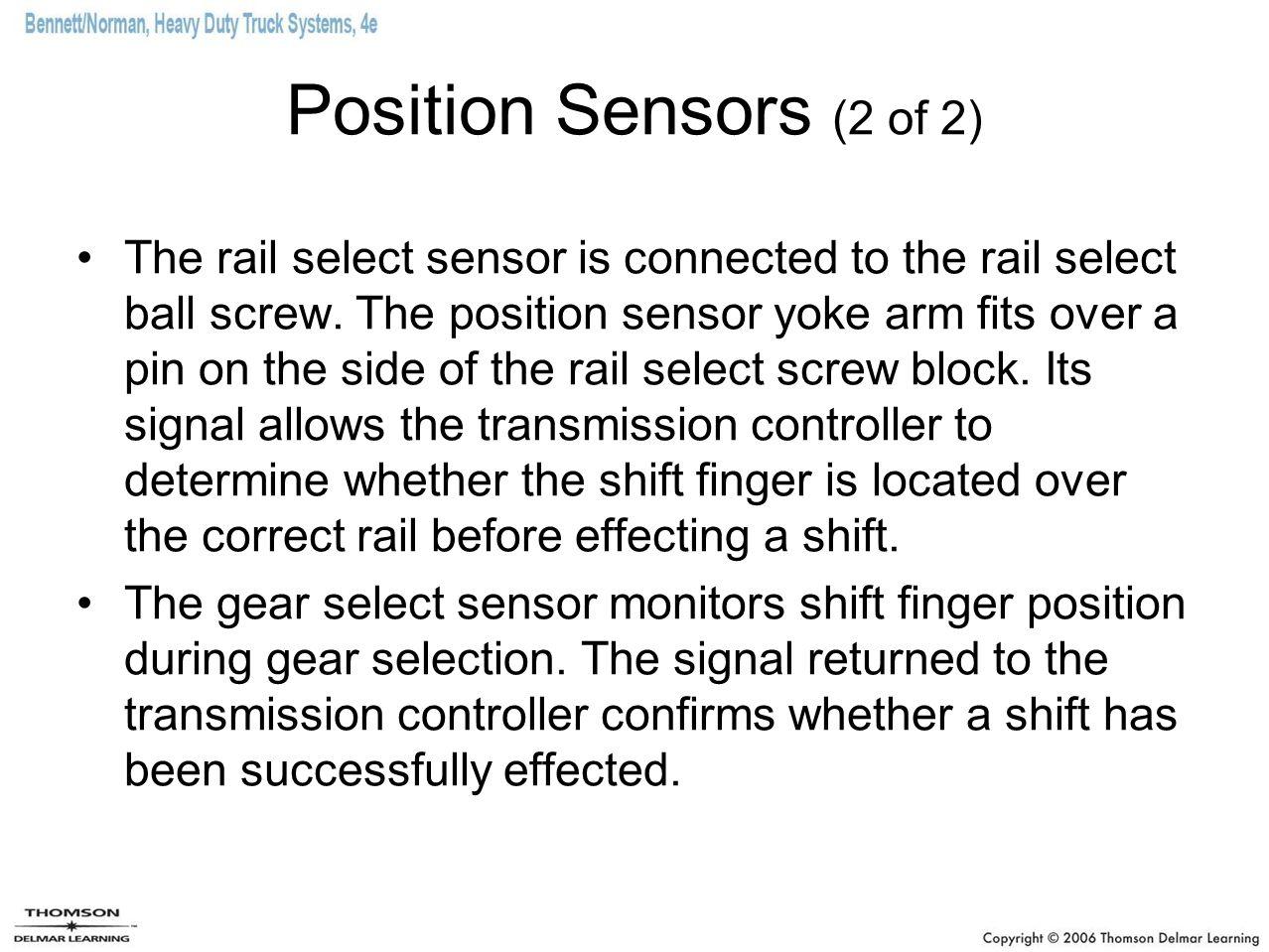 Position Sensors (2 of 2)
