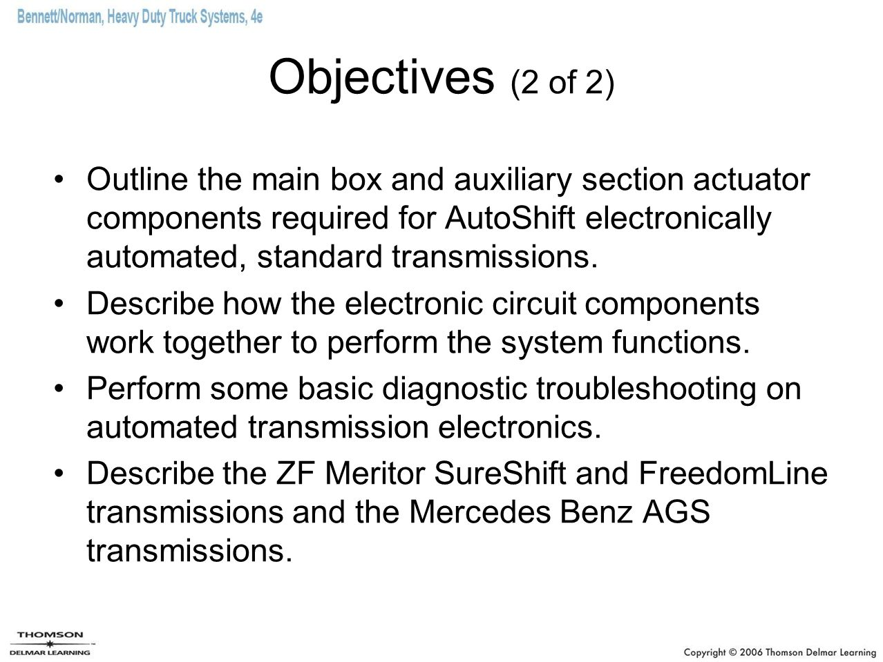 Objectives (2 of 2)