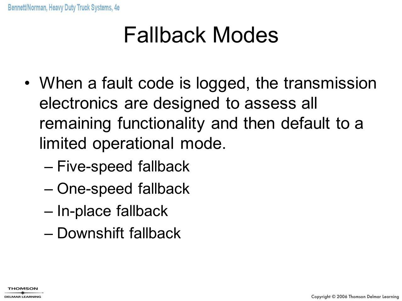 Fallback Modes