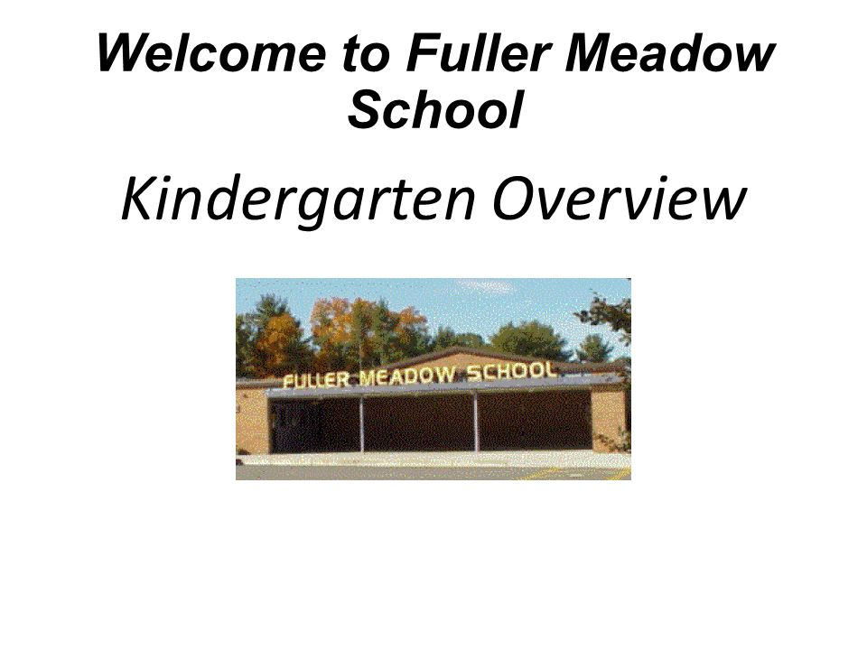 Welcome to Fuller Meadow School