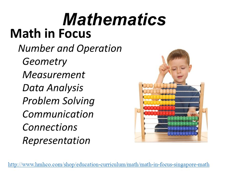 Mathematics Math in Focus Geometry Measurement Data Analysis