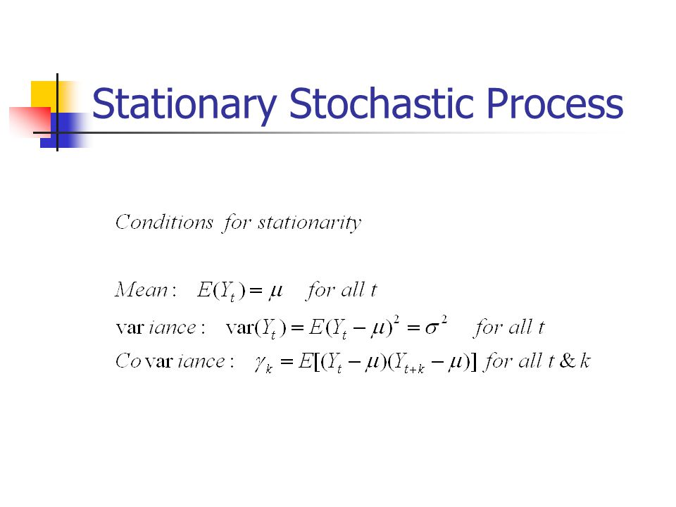 Stationary Stochastic Process