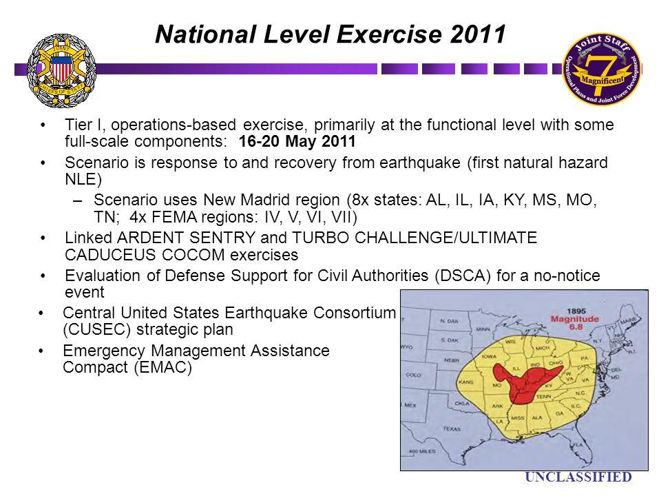 National Level Exercise 2011