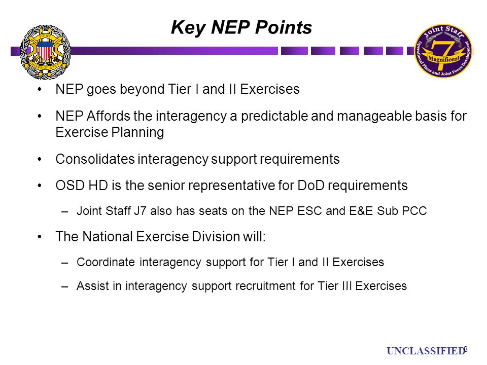 Key NEP Points NEP goes beyond Tier I and II Exercises