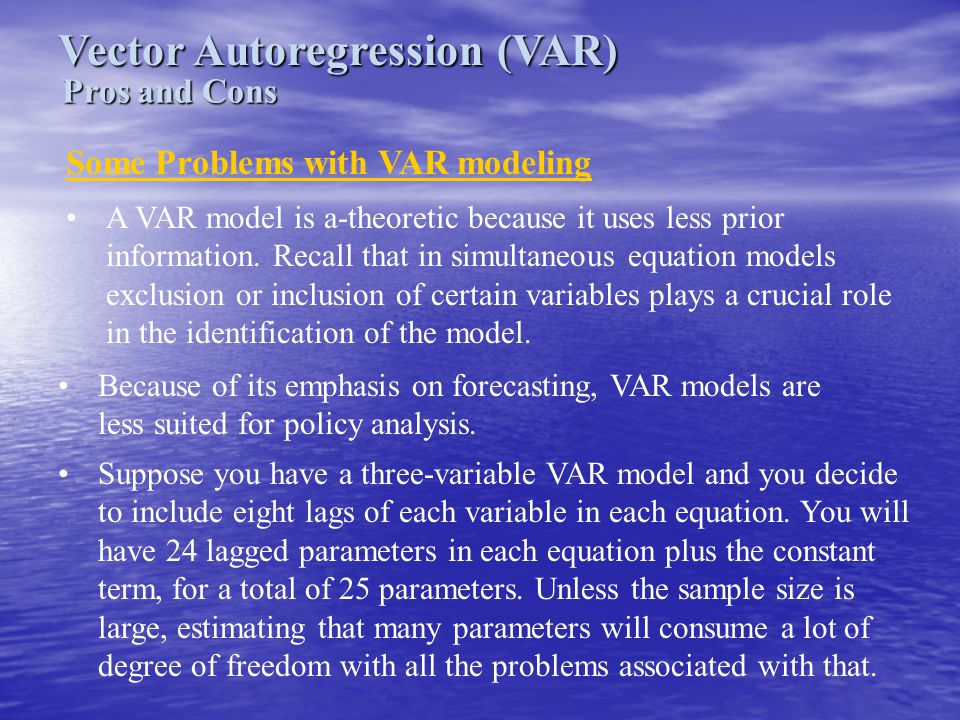 Vector Autoregression (VAR)