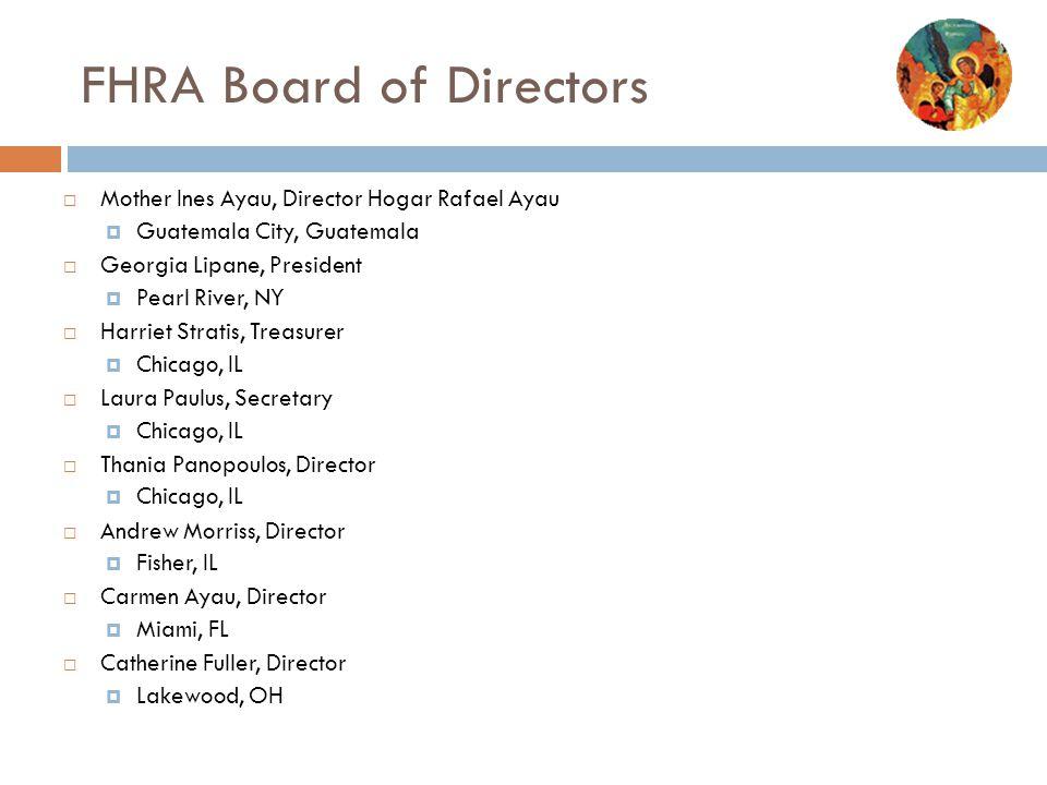 FHRA Board of Directors