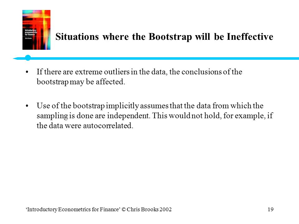 Situations where the Bootstrap will be Ineffective
