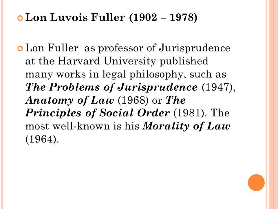Lon Luvois Fuller (1902 – 1978)