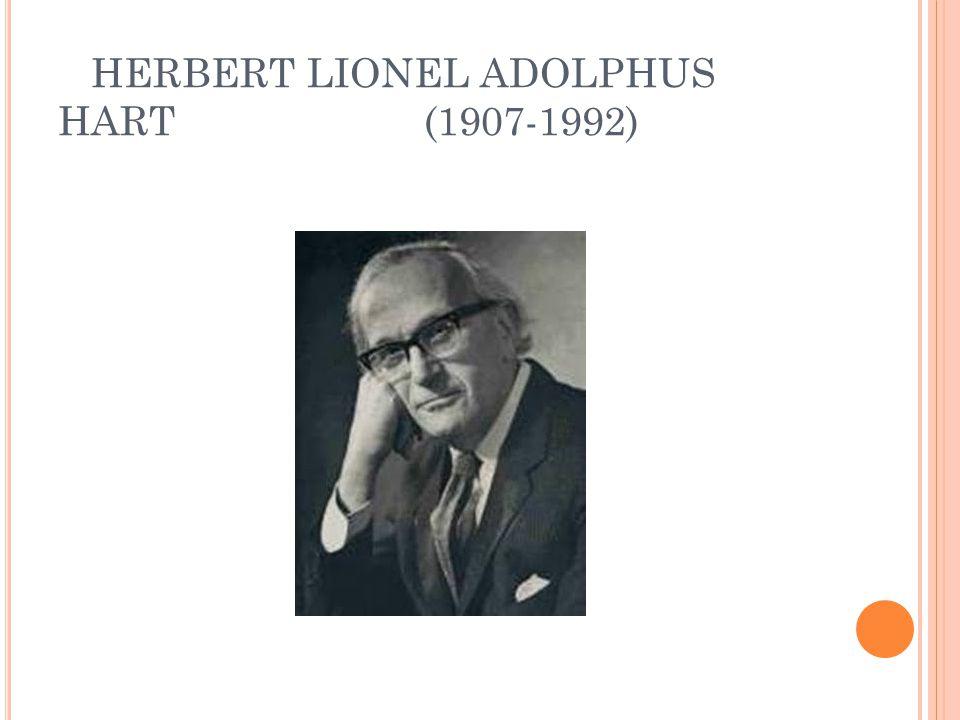HERBERT LIONEL ADOLPHUS HART (1907-1992)
