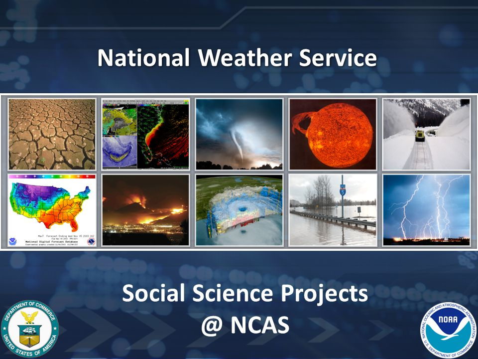 National Weather Service Social Science Projects