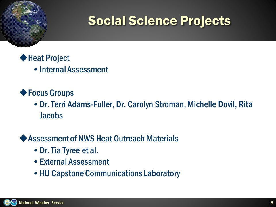 Social Science Projects
